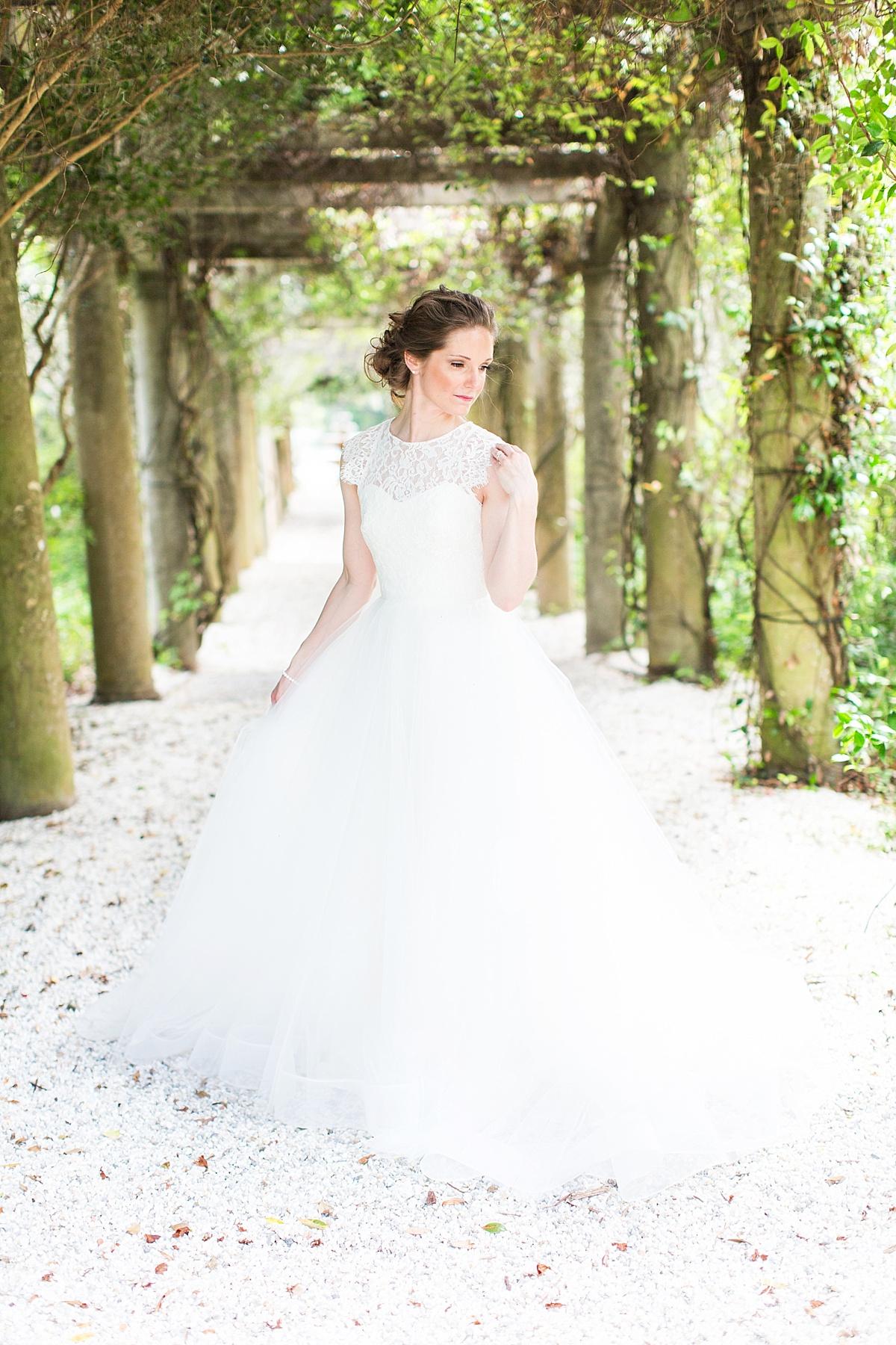 Airlie Gardens Wilmington NC Wedding Photographer Haley Bridals