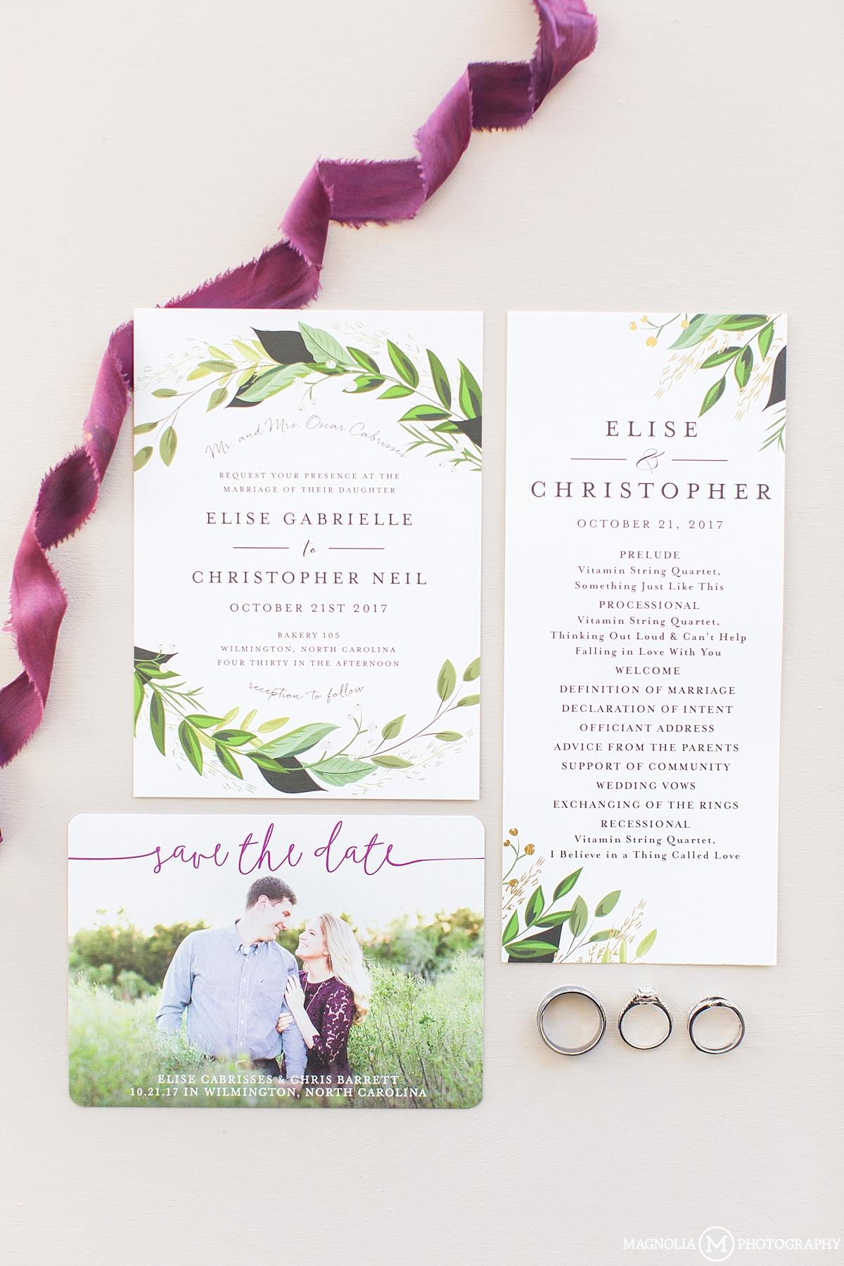 Bakery 105 Wedding Photographer | Elise & Chris Married - Magnolia ...