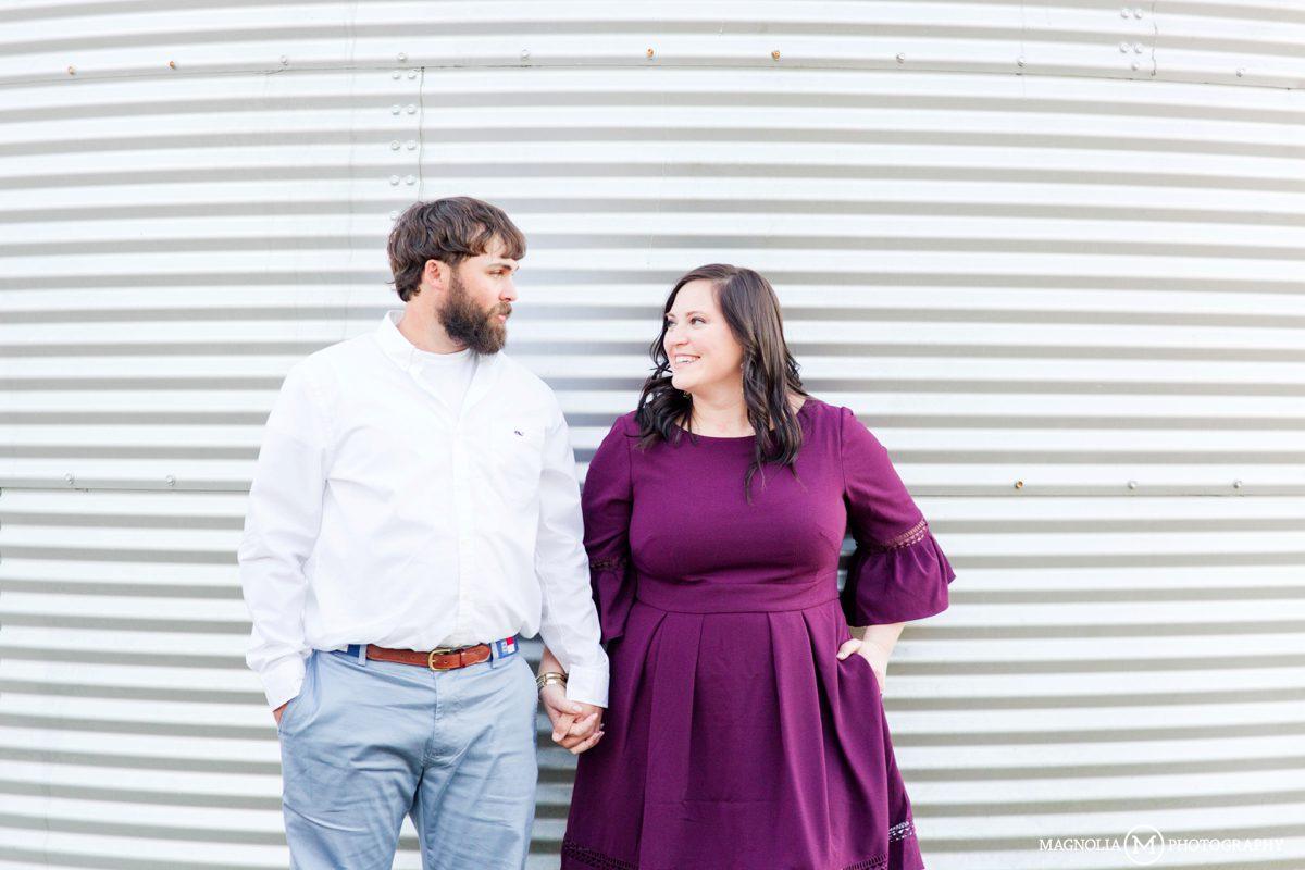 Grain Silos Engagement Pictures