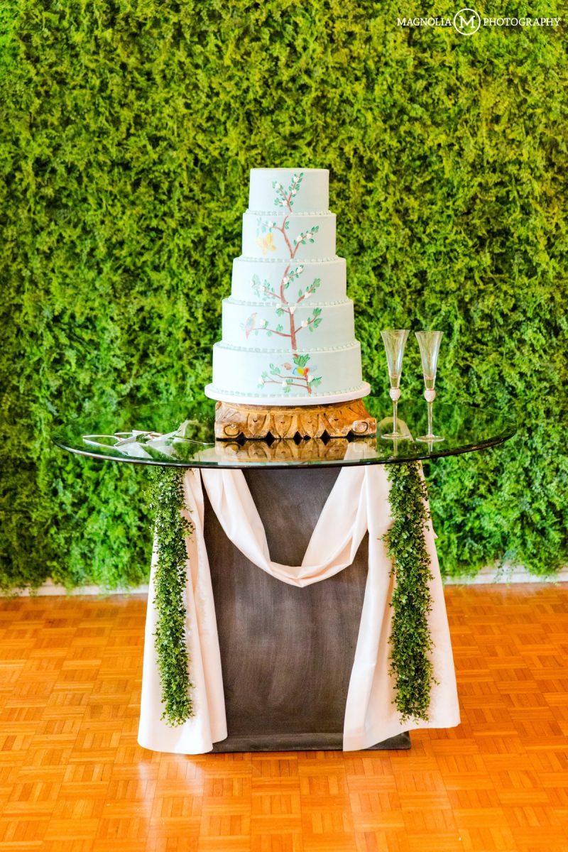 Unique Tree Wedding Cake