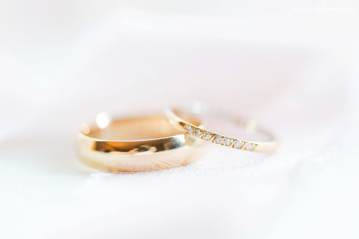 Simple Gold Wedding Bands