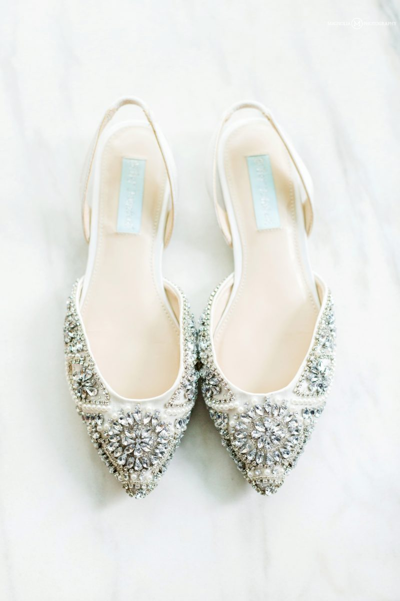 Jeweled Wedding Flats