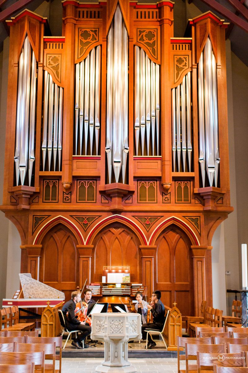 Wooden Church Organ
