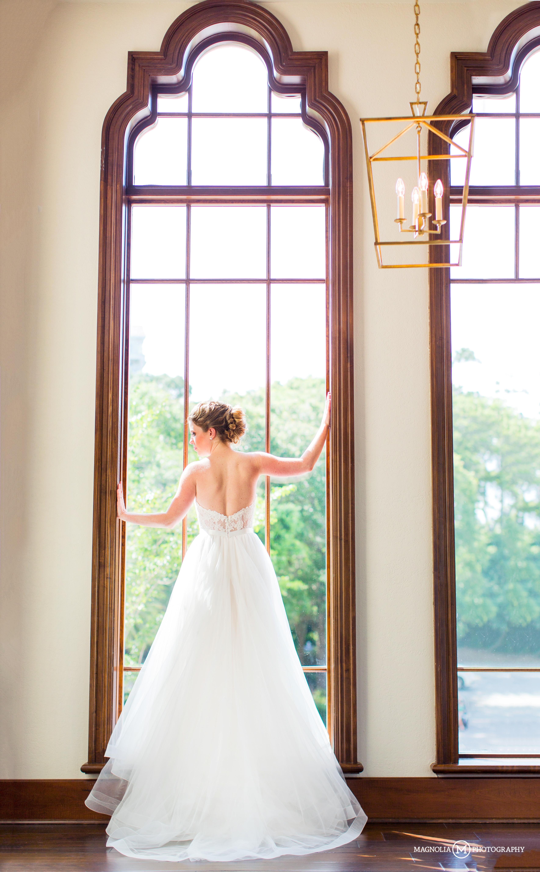Bride Silhouette in Window