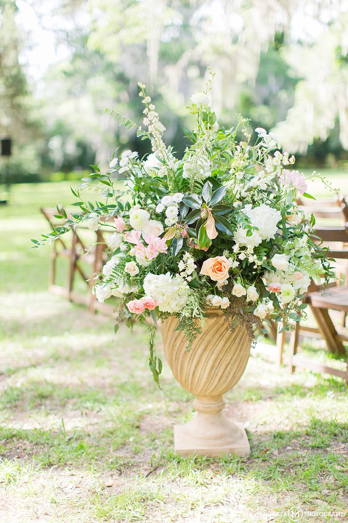 Wedding Aisle Planters