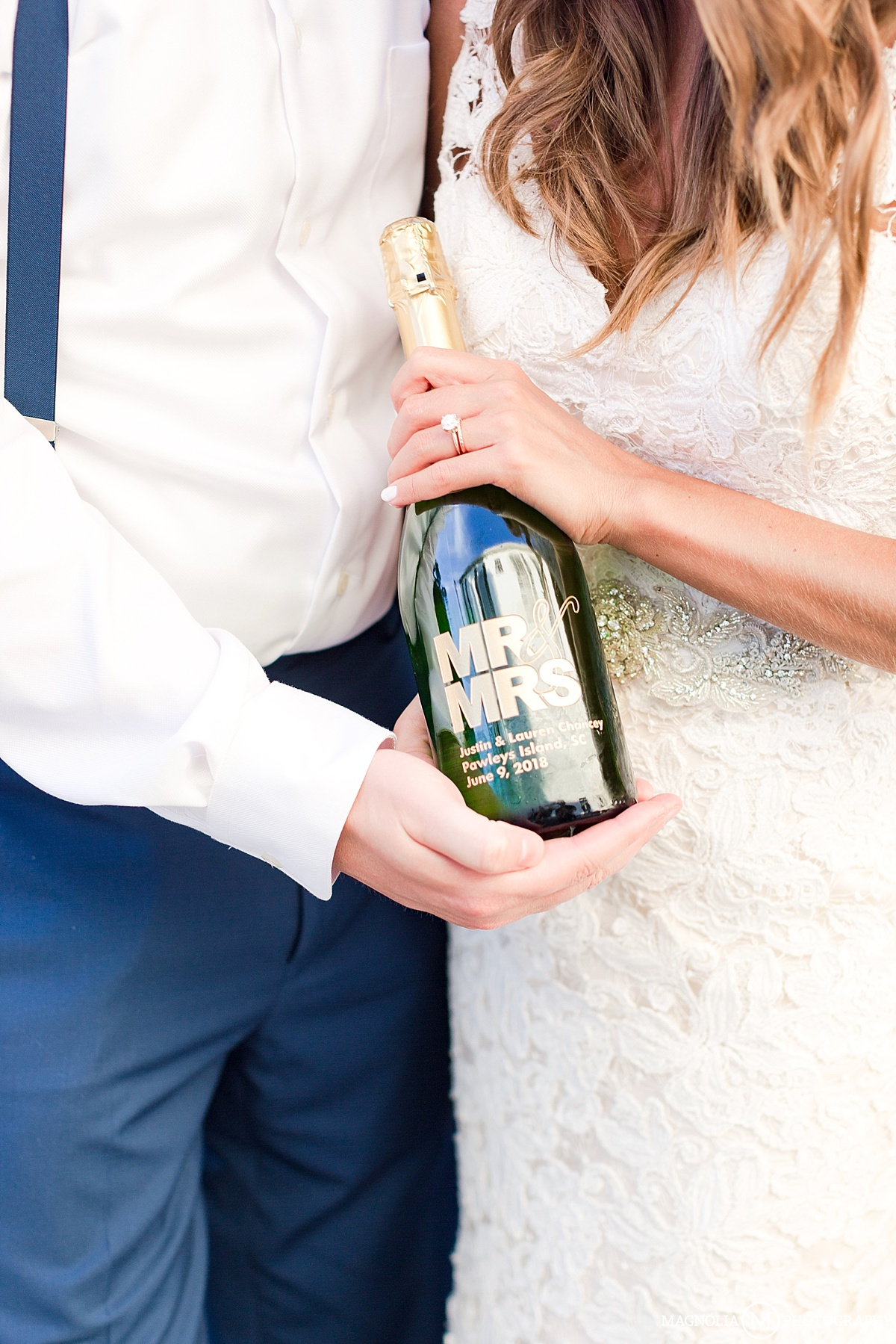 Custom Champagne Bottle