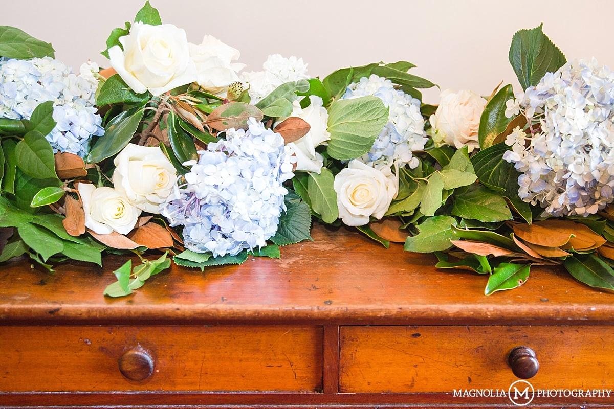 Blue Hydrangea Arrangements