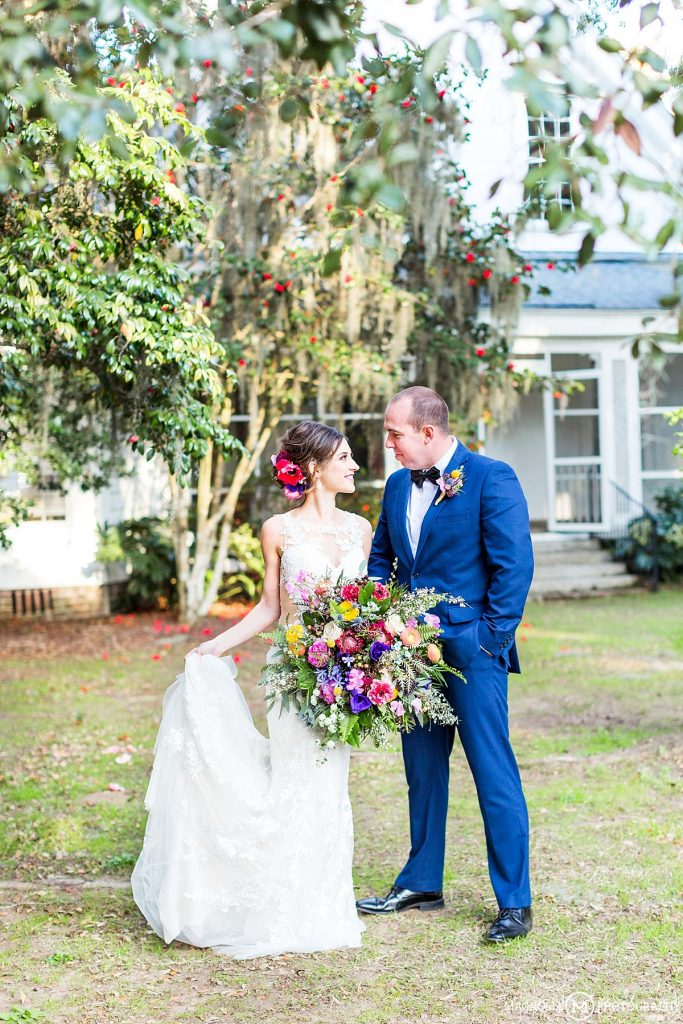 Sunnyside Plantation SC Wedding Photographer | Bold, Colorful Spring Shoot