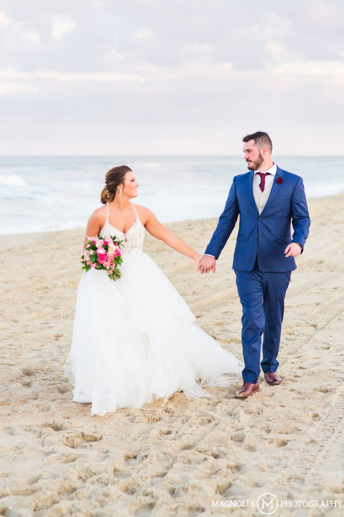 Kill Devil Hills Wedding Photographer | Katlin + Isaac Married