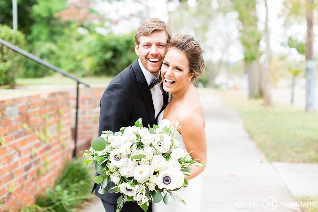 BROOKLYN ARTS CENTER AT ST. ANDREWS WILMINGTON NC WEDDING PHOTOGRAPHER | Savannah & Taylor MARRIED